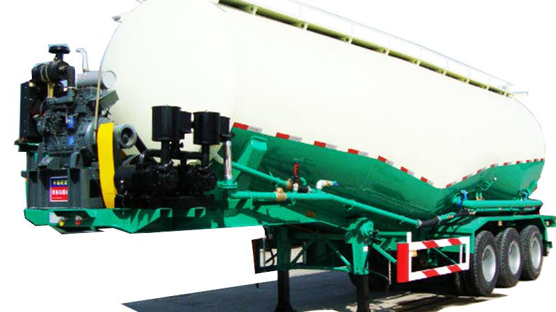 2/3/4axles 50cbm v w shape bulker carrier silo tank powder wheat flour bulk cement tanker trailer for sale