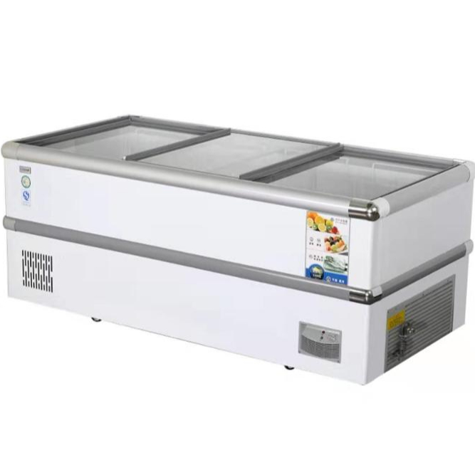 398L-898L large capacity  High quality Single temperature top open chest freezer deep freezer  refrigerator