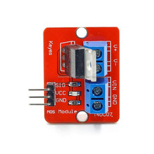 IRF520N MOS Switch MOSFET PWM Driver Breakout Papan Modul IRF520 untuk <span class=keywords><strong>Uno</strong></span> Raspberry Pi