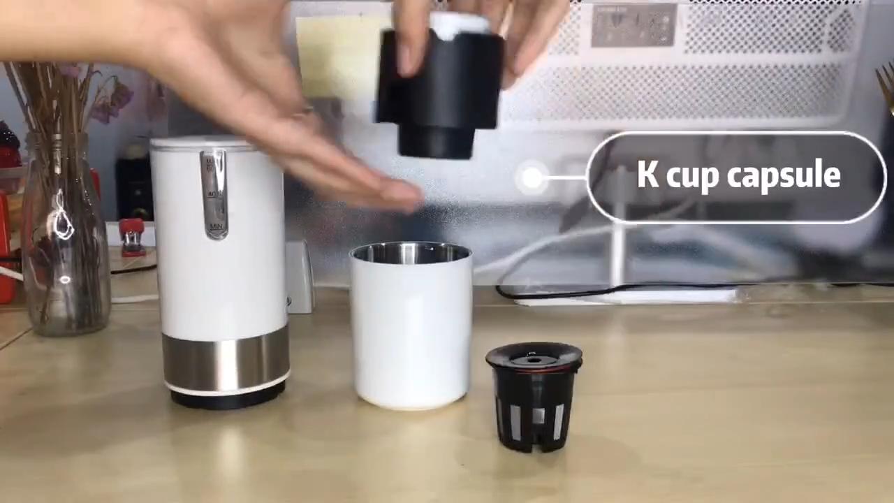 Máquina de café expreso automática, Mini máquina de café portátil de viaje al aire libre Usb