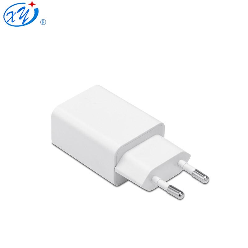 Evrensel beyaz renk ab tak 5v 2.4a USB şarj aleti ac adaptörü
