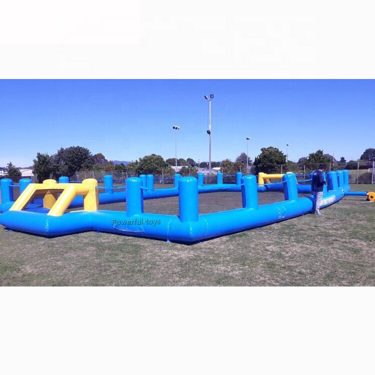 outdoor Inflatable football soccer field  soapy stadium