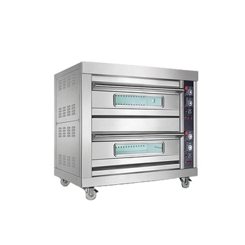 New Fashion Commercial Kitchen Equipment Stainless Steel Cake And Bread Baking Gas Oven Pizza Oven