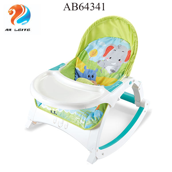 Blue Baby Rocker Bouncer Baby Chair Smooth Vibrations with Music in Pink /& Blue