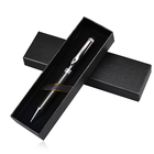 High Quality Professional Business gift office black metal ballpoint carbon fiber pen customized logo