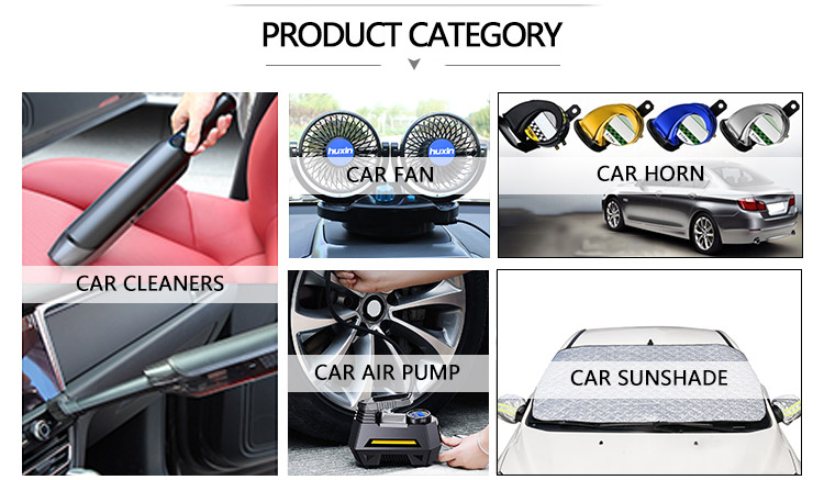 Functional Custom High Power 12V 120w Wet Dry Dual Portable Handheld Car Cleaning Vacuum Cleaner
