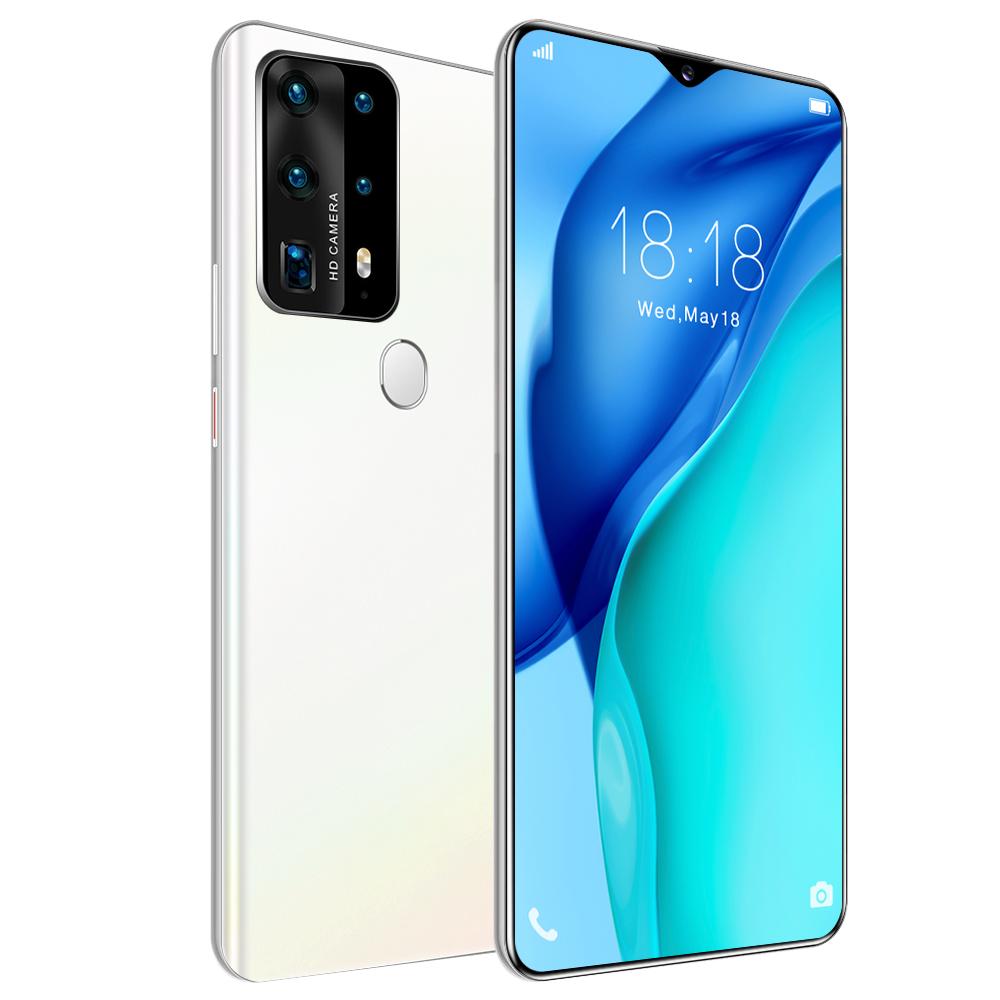 Fingerprint unlock smart phone 6.8 inch 4G used mobile phone smartphones support OEM / ODM for your brand