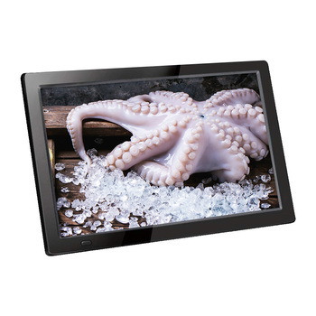 Big size commercial picture promotion 13.3 inch digital photo frame