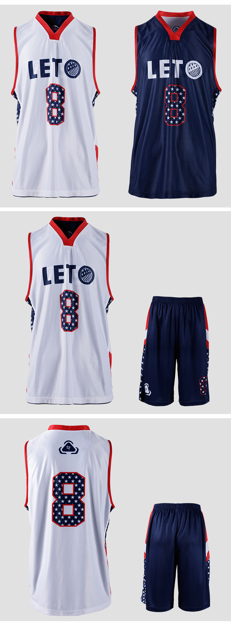 Wicking basketball uniforms hot design basketball gear team wear kits