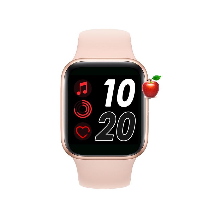 2020 IWO 12 13 Loạt Đồng Hồ 5 T500 Thông Minh Đồng Hồ Bluetooth Cuộc Gọi Âm Nhạc Máy Nghe Nhạc 44MM Cho Apple IOS Android Của điện thoại Trái Tim Tỷ Lệ