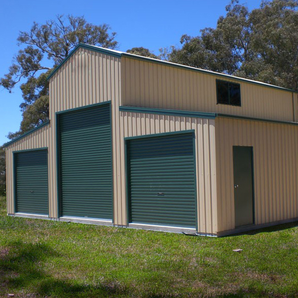 customised prefabricted american barn shed