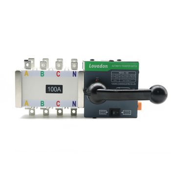 100A PC Class ATS Controller dual power automatic transfer switch