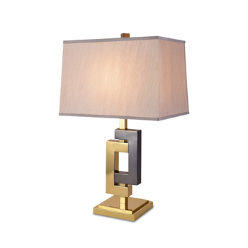 American Post Modern Luxury Living Room Bedroom Metal Led Bedside Table Lamp With Fabric Lamp Shade Buy Table Lamp Shade Bedside Table Lamp Metal