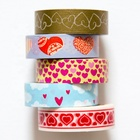 Custom Washi Making Tape Hold Various Assorted Design Washi Tape