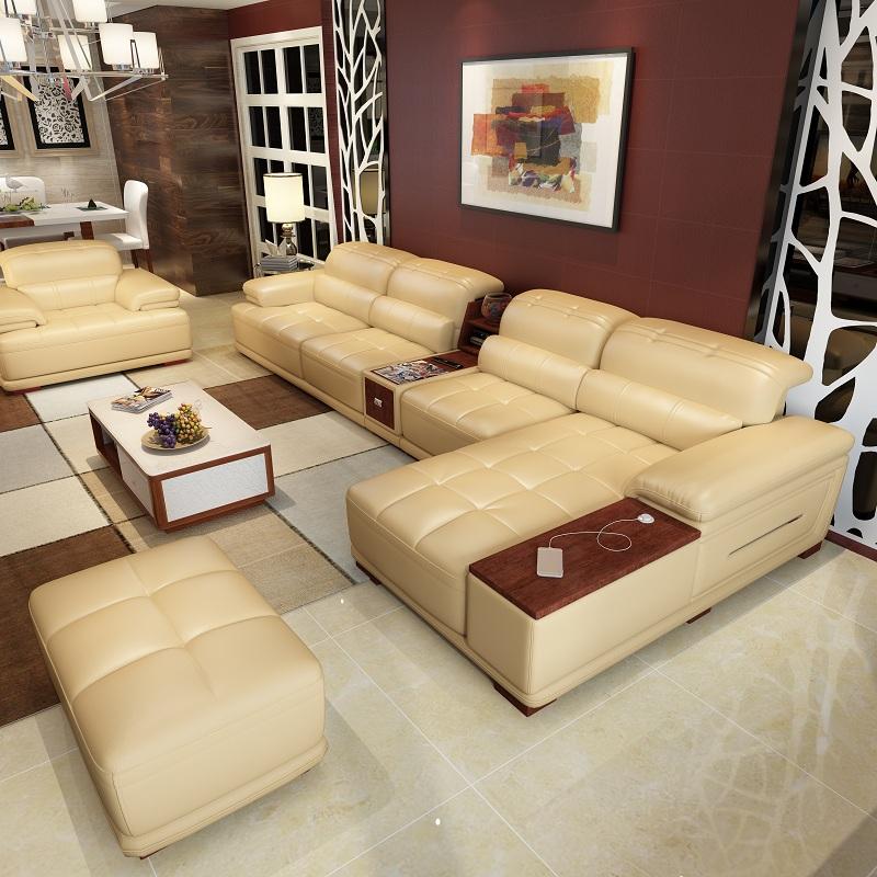 새로운 도착 큰 거실 + 룸 + 소파 단면 소파 판매