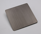 300 Series Finish Stainless Sheet 304 304 Customized Hairline Finish Black Stainless Steel Sheet Price
