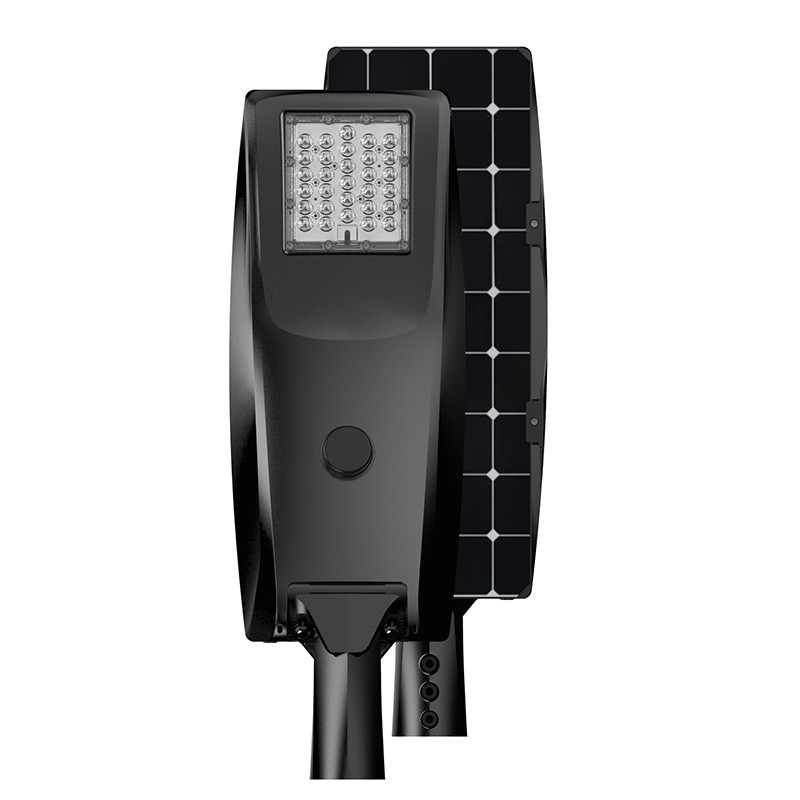 4000k outdoor lamp solar newest street light new style with pole