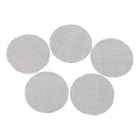 Screen Filter Screen Food Grade Smoking Accessories Weed Metal Filter 10mm 8mm Stainless Steel And Brass Smoking Pipe Screen