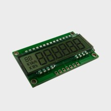 Digitale energiemeter lcd display <span class=keywords><strong>7</strong></span> <span class=keywords><strong>segment</strong></span> display module HT1621 COB metalen pinnen 6 cijfers <span class=keywords><strong>segment</strong></span> LCD display