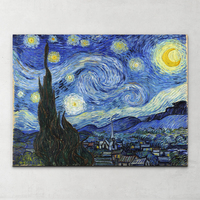 China reproductions Vincent Van Gogh starry night landscape painting on canvas