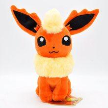 22 см POKEMON плюшевые игрушки Glaceon Leafeon Umbreon Espeon Jolteon vaporion Flareon Evee Sylveon Pocket Monster Pikachu Poké Gift(Китай)