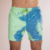 Accept OEM Customize Printed Logo Sexy Man Short Swim Mens Beach Shorts Swimwear Color Change BeacwWear Mens Swimming Short