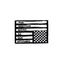 Grote Amerika land logo vierkante custom <span class=keywords><strong>patches</strong></span>