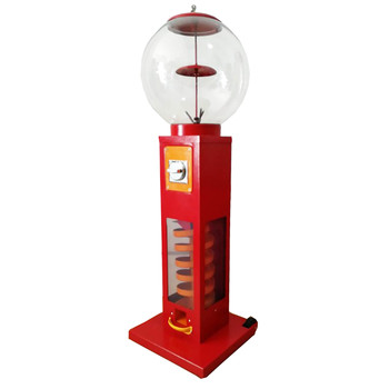 Toy capsule / bounce ball sliding vending machine