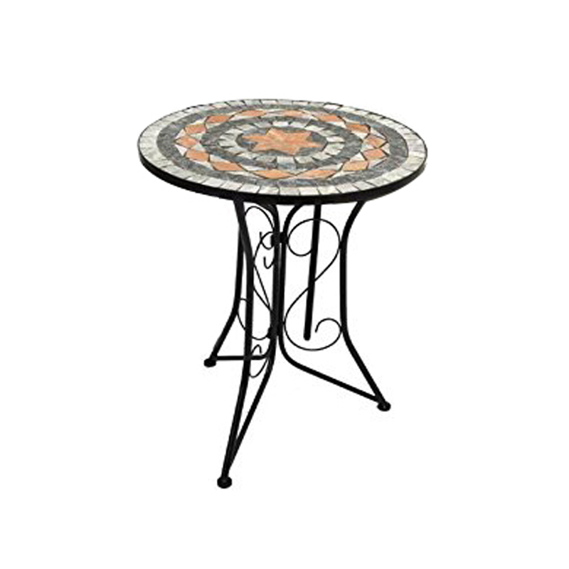 Outdoor Garden Ceramic Tile Top Mosaic Round Table Buy Mosaic Round Table Outdoor Round Table Ceramic Round Table Product On Alibaba Com