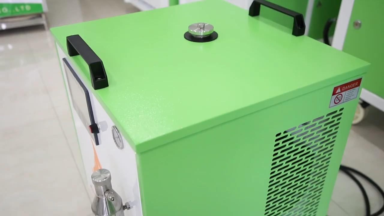 Semi Otomatis Tabung Kaca Kuarsa Mesin