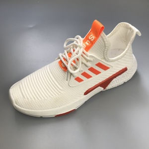 Light knit fabric sport shoes casual shoes men sneakers walking shoes