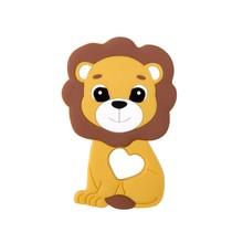 Силиконовые Прорезыватели для зубов, Детские Прорезыватели для зубов с мультяшными животными, Силиконовые Прорезыватели для зубов своими ...(Китай)