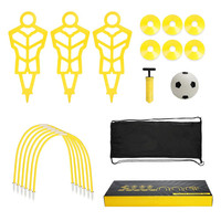 Carefully selected materials soccer training equipment team set training soccer set