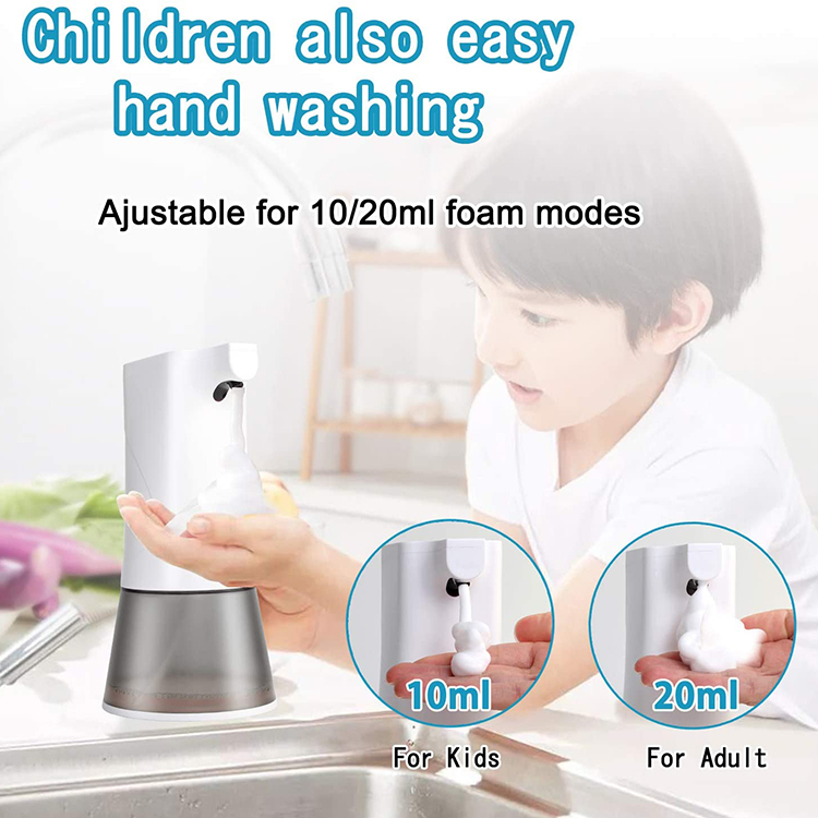Factory OEM New  Auto Foaming Touch Less Induction Foaming Automatic Soap Dispenser