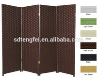 Wholesale factory price decorative folding lowes screen room divider