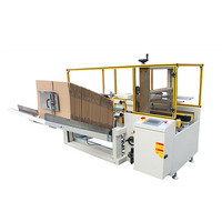 Carton erecting unpacking machine/carton box case erector with high speed and high grade quality