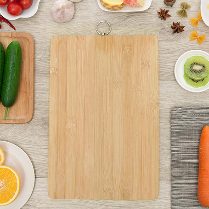 Cuisine planche à découper en bois de bambou planche à découper en bois bloc