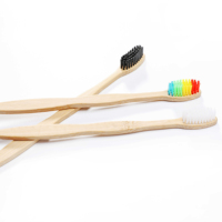 Wholesale High Quality Bamboo Toothbrush Kids Children
