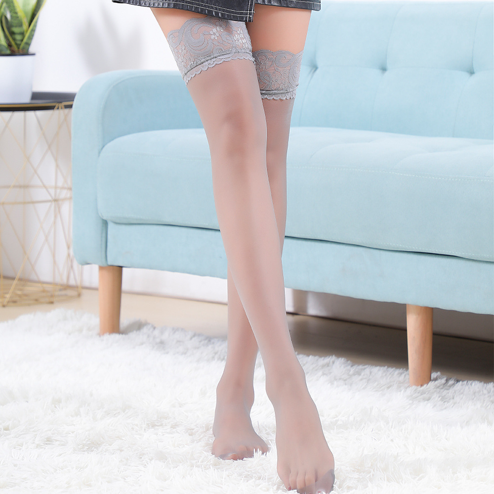 Wholesale Cheaper Top thigh high Women Medias pantyhose / tights Girls Sexy Lace Silk Stocking Ladies