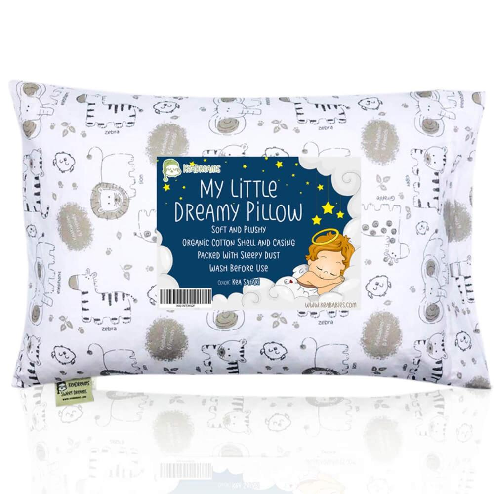 綿 100% 生地ボール繊維充填枕幼児枕プリント枕セット