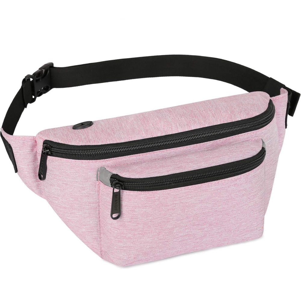 Twinkle Amazon Hot Selling Designers Fanny Pack Waist Bag Fashion Nylon Water Proof Unisex Barrel-shaped Zipper