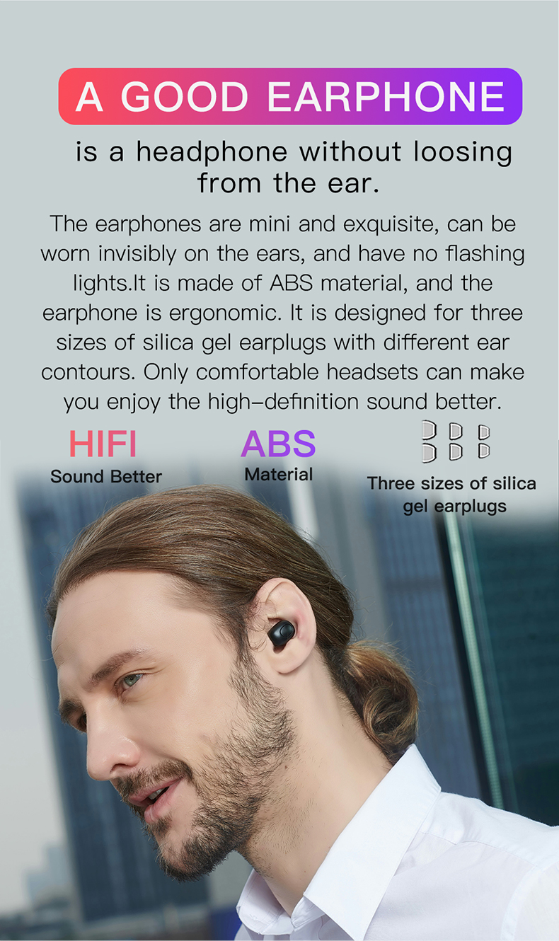Bluedio 2019 New Product True Wireless Earphone Bluedio TWS headphone  For Talking and Music WITH Completely Exquisite Product