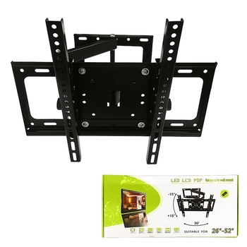 Good Quality Swivel Economy LCD Removable TV Mount Bracket Suitable 26''-52''