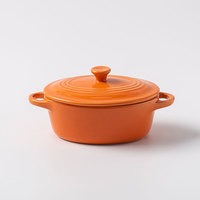 Wholesale stoneware round stew pot soup stew pot