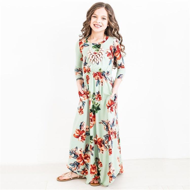 Grossiste Robe Longue Petite Fille Acheter Les Meilleurs Robe Longue Petite Fille Lots De La Chine Robe Longue Petite Fille Grossistes En Ligne Alibaba Com