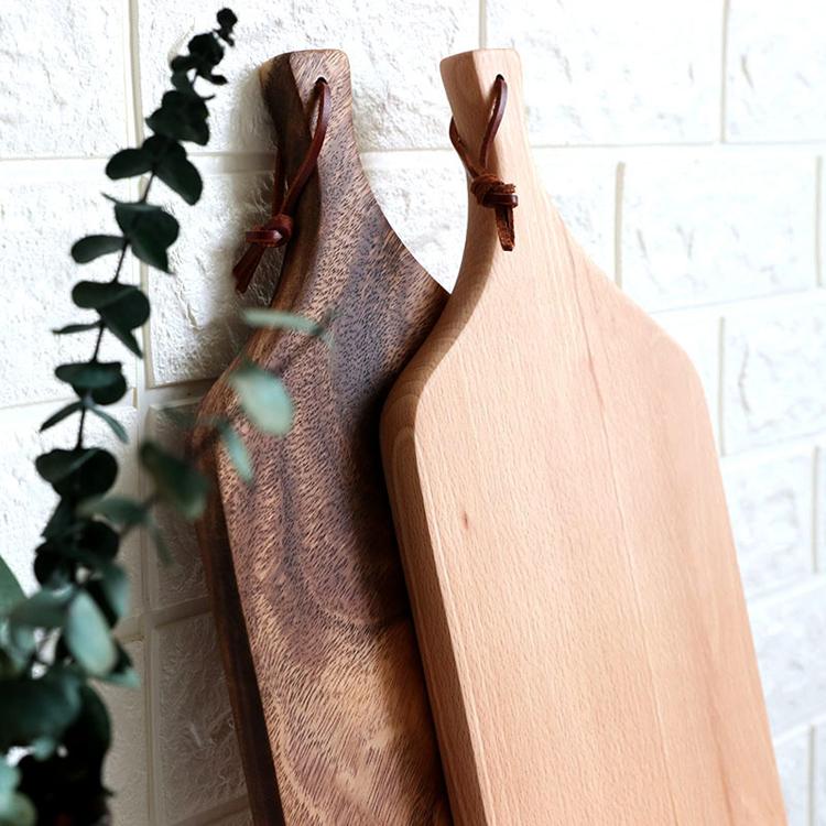 Acacia Wood Cutting Board Cheese Pizza wood board chopping board