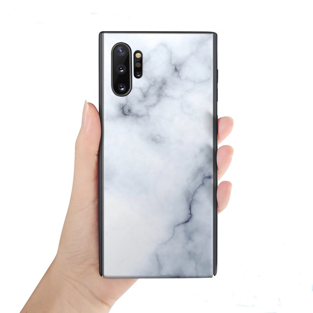 Polar Lights Design Glass Mobilephone Case For Samsung Galaxy Note 8 9 10 A50 A60 A70