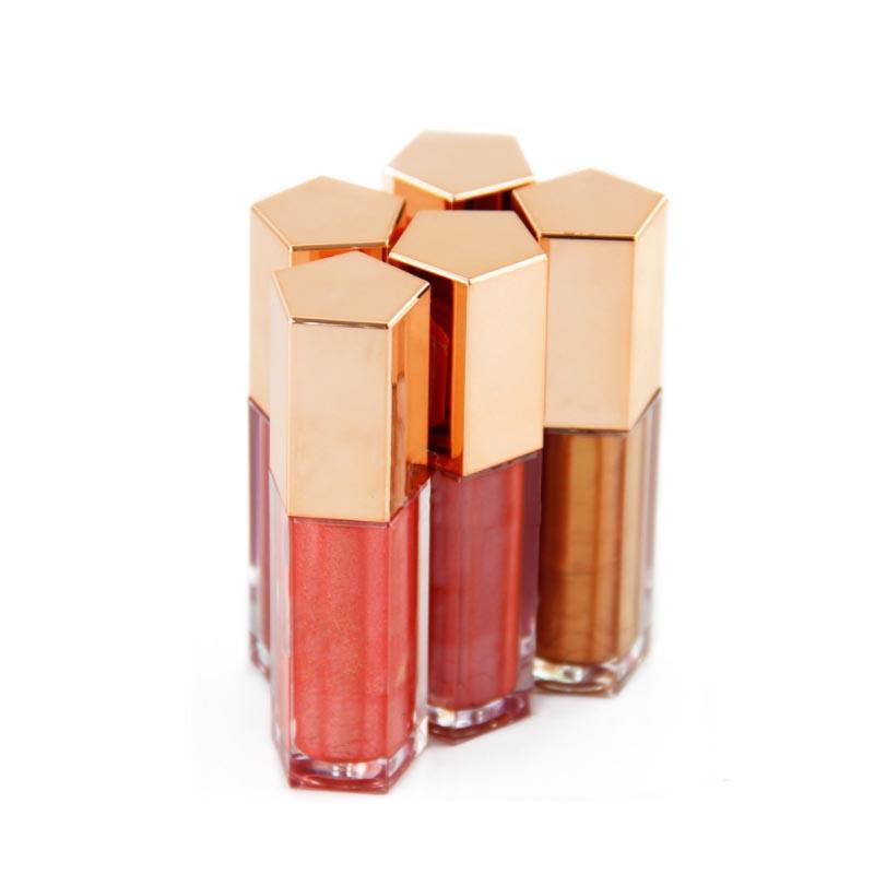 Não Marca de Maquiagem Lipgloss Tubo 41 Gradiente de Cor Lip Gloss