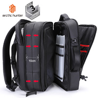 Arctic Hunter Multifunction Smart Business Laptop Anti Theft Large Capacity Travel Rucksack Backpack Bag With USB Charging Port