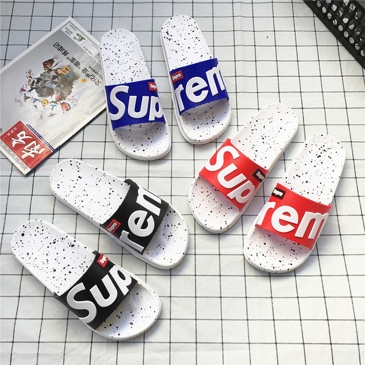 wholesale 2020 slides bathroom flat sandals and slippers fashion casual white fancy rubber woman slippers
